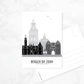 Ansichtkaart Bergen op Zoom
