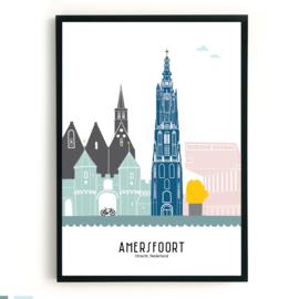 Poster Amersfoort in kleur