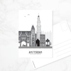 Ansichtkaart Amsterdam
