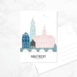 Ansichtkaart Maastricht - kleur