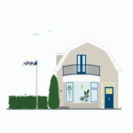 Ontwerpkosten Huisportret  Bleiswijk