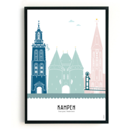 Poster Kampen in kleur