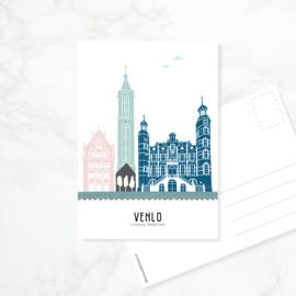 Ansichtkaart Venlo - kleur