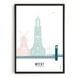 Poster Weert in kleur