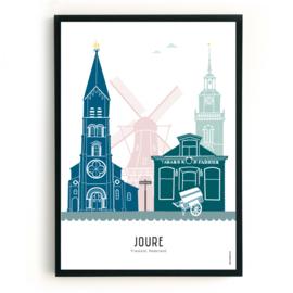Poster Joure in kleur