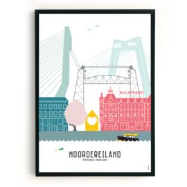 Geboorteposter Rotterdam-Noordereiland