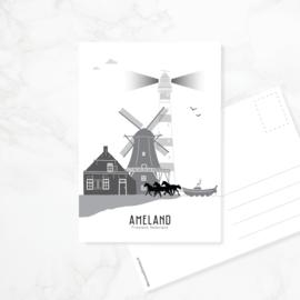 Ansichtkaart Ameland