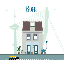 Rotterdam - Huisportret (jongen)