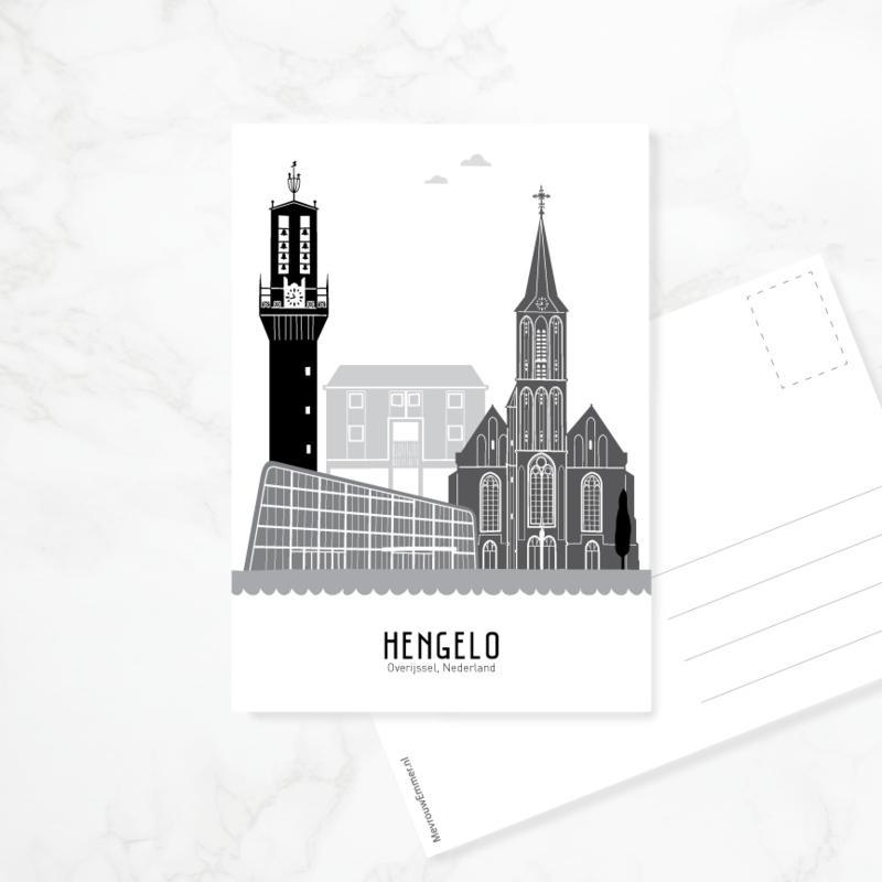 Ansichtkaart Hengelo