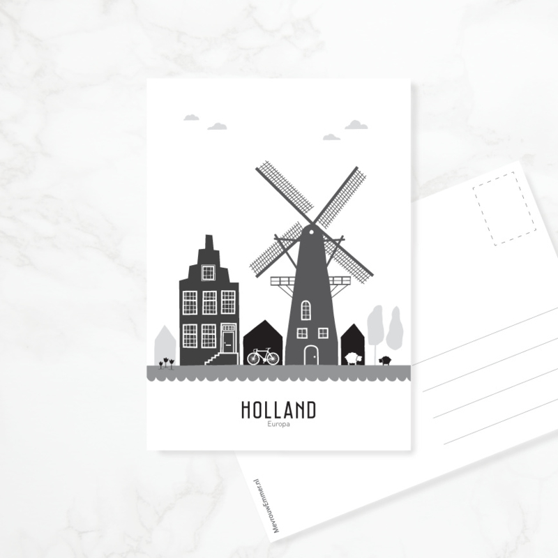 Ansichtkaart Holland