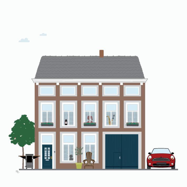 Ontwerpkosten Huisportret Maastricht