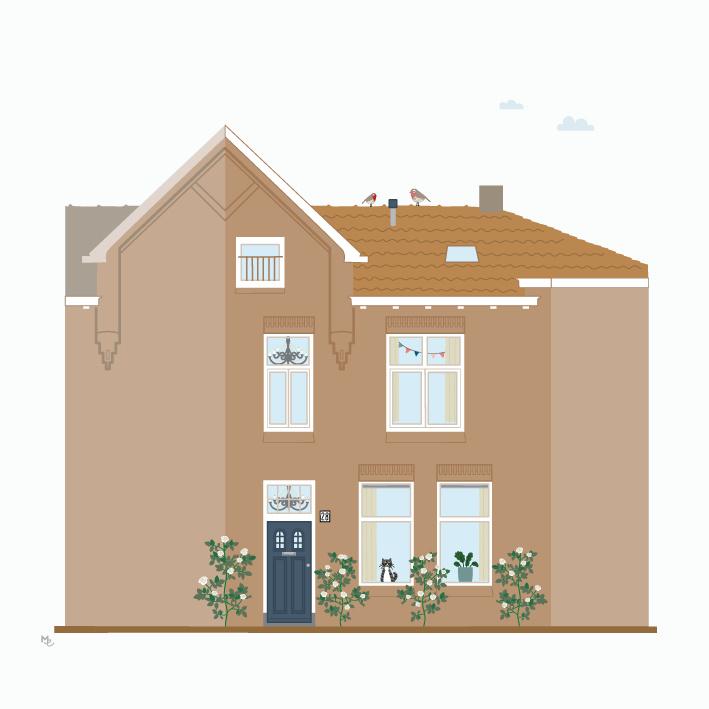 Ontwerpkosten Huisportret Roermond