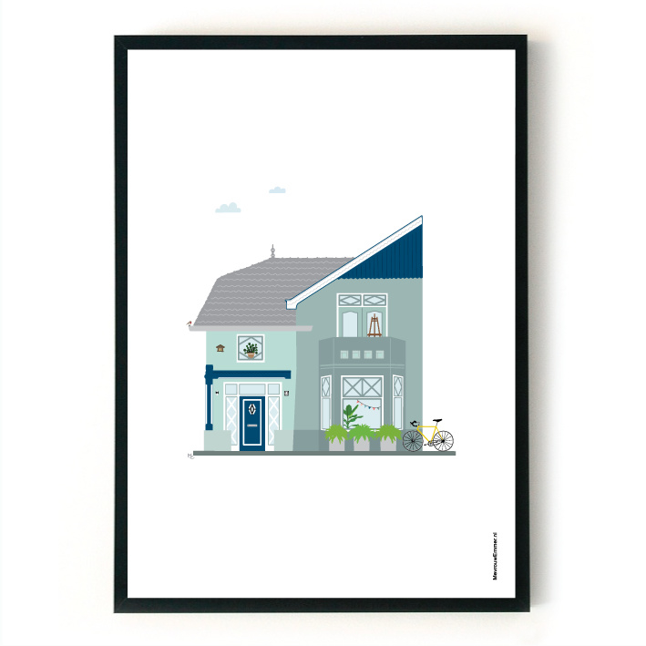 Ontwerpkosten Huisportret Haaksbergen