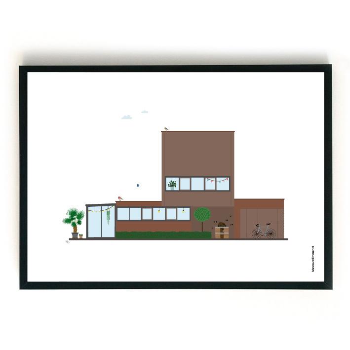 Ontwerpkosten Huisportret Steenwijk