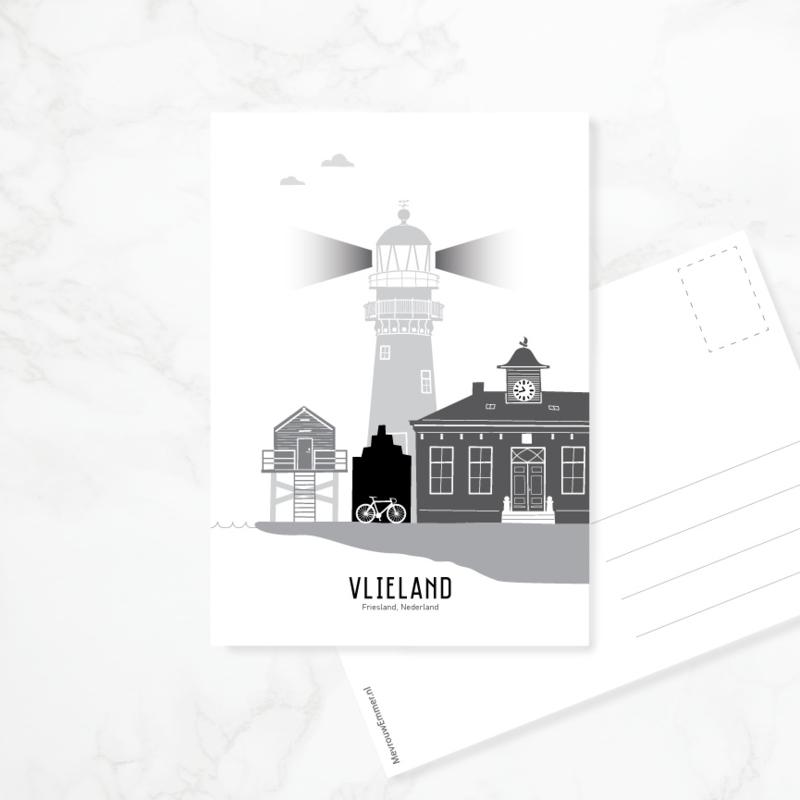 Ansichtkaart Vlieland
