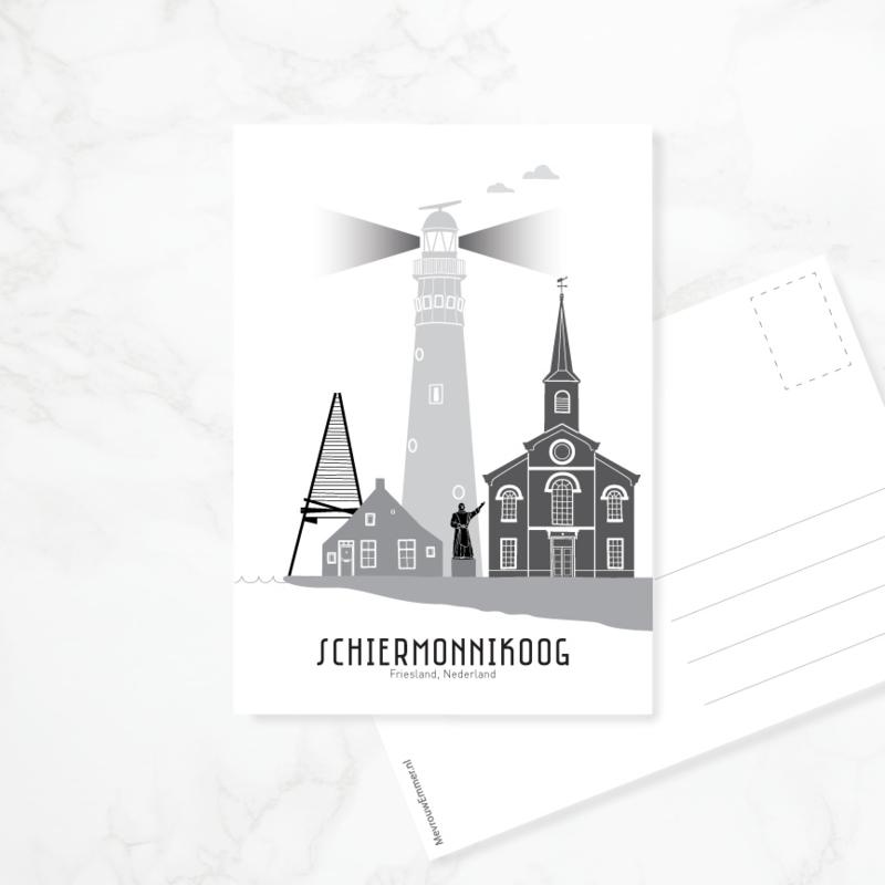 Ansichtkaart Schiermonnikoog