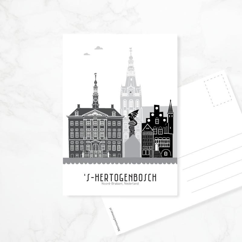 Ansichtkaart Den Bosch