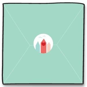 Sluitzegel - rood