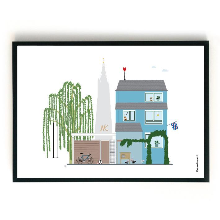 Ontwerpkosten Huisportret Amersfoort