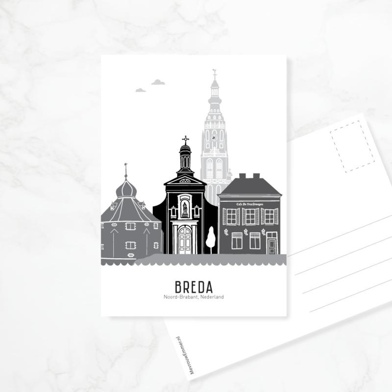 Ansichtkaart Breda
