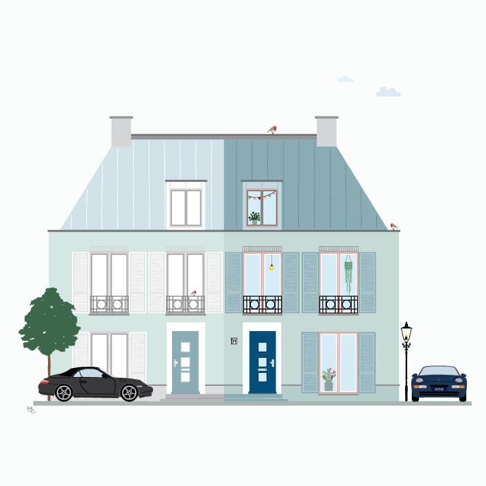 Ontwerpkosten Huisportret Maarssen