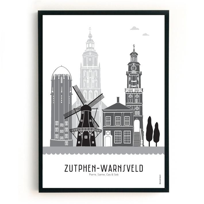 Familieposter Zutphen-Warnsveld