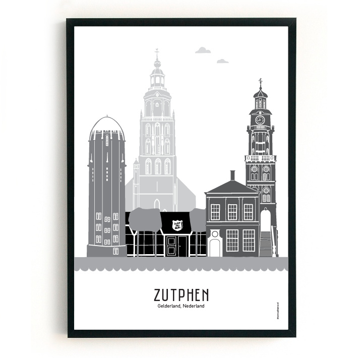 Poster Zutphen - Leger des Heils