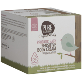 PROBIOTIC BABY Sensitive Body Cream, geurvrij (250ml)