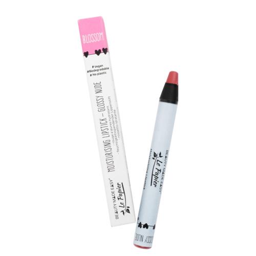 Zero waste Lipstick Blossom Glossy Nude