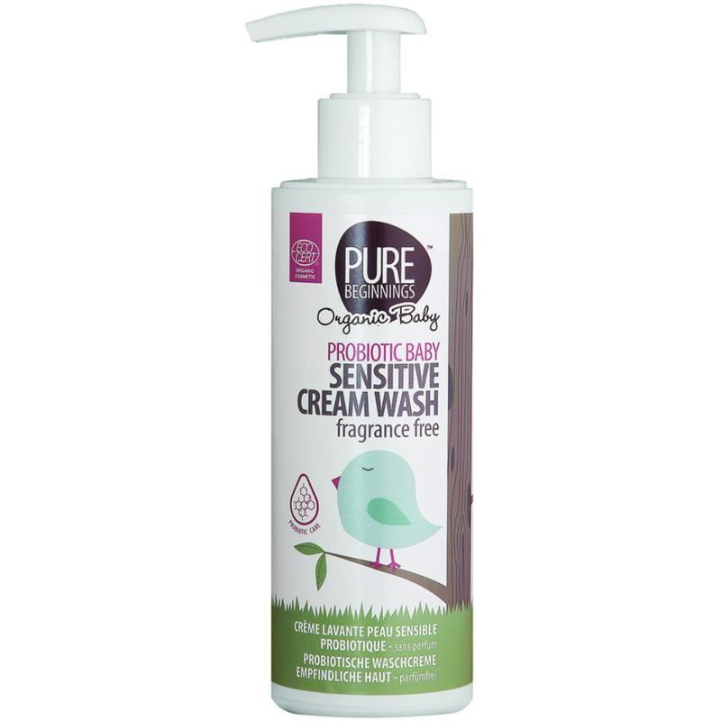 PROBIOTIC BABY Sensitive Cream Wash, geurvrij (200 ml)