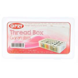 Opry opbergbox voor maximaal 42 klosjes garen