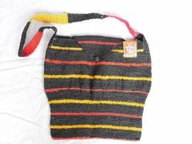 435 - zwart/rood/geel