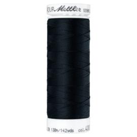 Seraflex elastisch machinegaren - zwart 4000