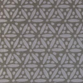 Tissu de Marie bloem grijs 100 % katoen