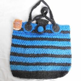 400 - zwart/blauw