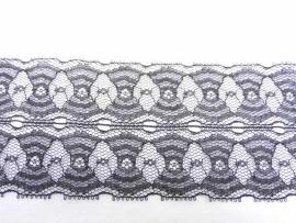 Kant zwart polyester