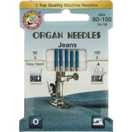 Organ naaimachinenaald jeans dikte 3 x 90 - 2 x 100
