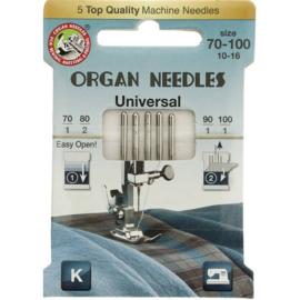 Organ machinenaalden