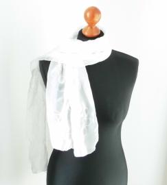 Sjaal wit voile