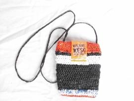 441 - zwart/wit/oranje
