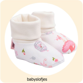 Annie - do it yourself patroon babyslofjes