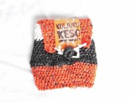440 - zwart/wit/oranje klein