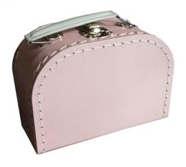 koffertje roze 16 cm