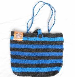 438 - zwart/blauw