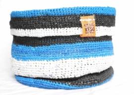 365 - zwart/wit/blauw
