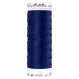 Seraflex elastisch machinegaren - donkerblauw 0825