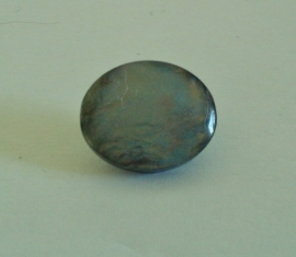 Knoop grijs-blauw parelmoer