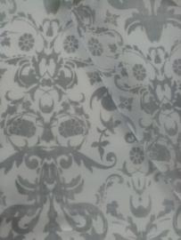 Viscose grijs/wit