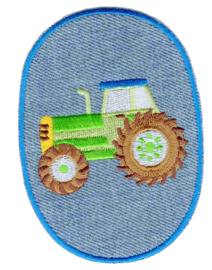 Kniestuk tractor groen