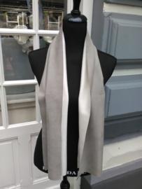 Suedine sjaal taupe/creme